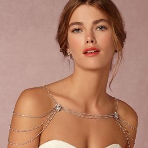 Swarovski Crystal Shoulder Necklace