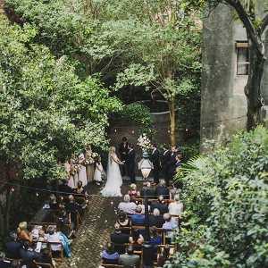 Intimate hotel wedding