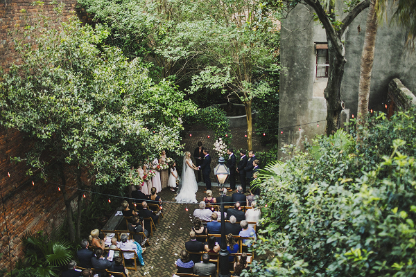 Intimate hotel wedding