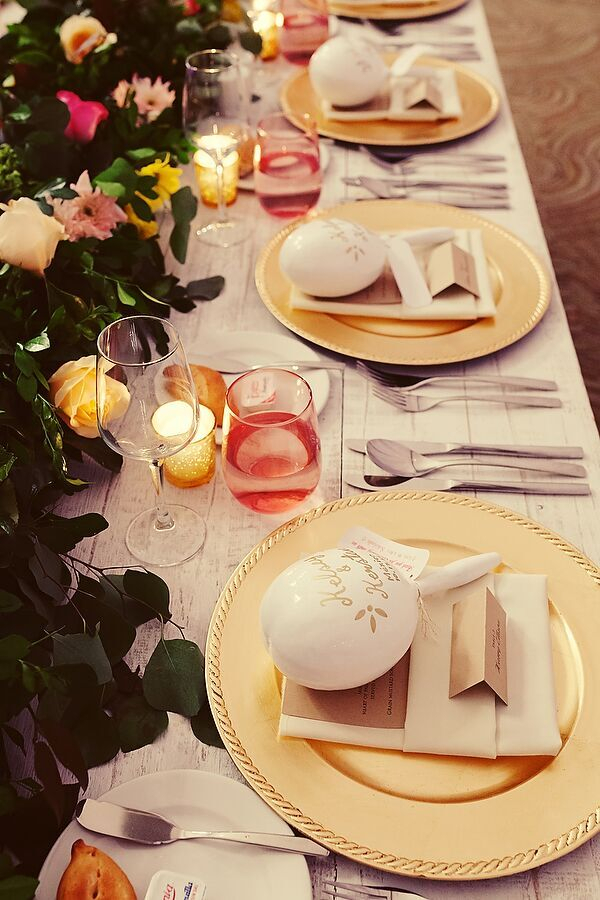 Maraca place settings