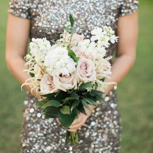 Glamorous bridesmaid style inspiration