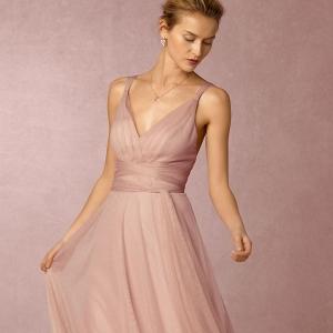 bhldn Tulle Convertible Bridesmaid Dress