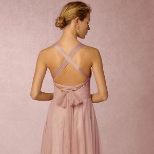 bhldn Zaria Tulle Convertible Bridesmaid Dress