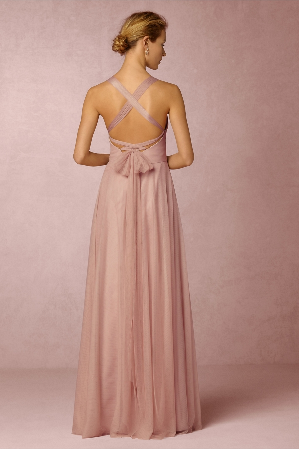 bhldn Zaria Tulle Convertible Bridesmaid Dress