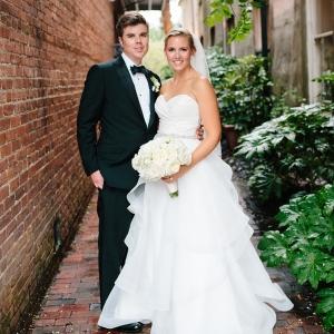 Charleston bride and groom