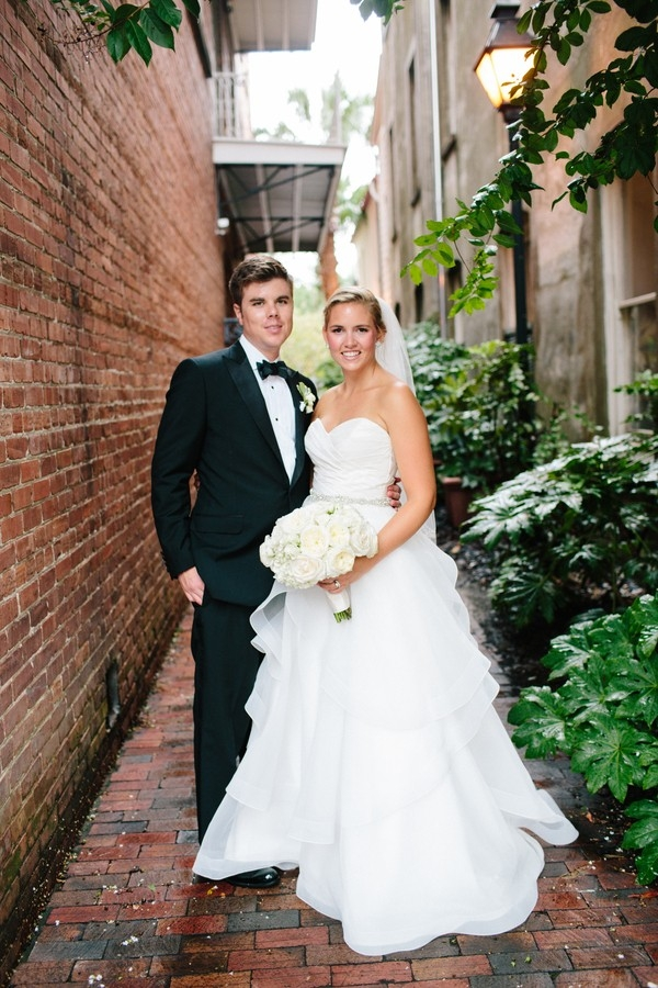 Charleston bride and groom