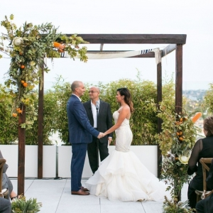 Rooftop ceremony at the W Hollywood