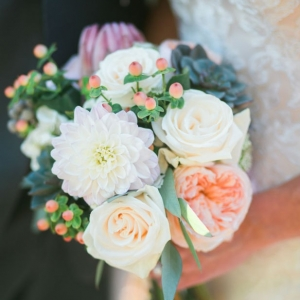 Elegant mixed bouquet