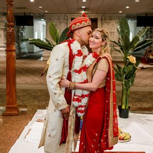 Indian fusion Nashville wedding