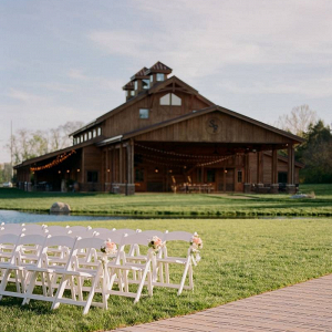 Nashville barn wedding reception