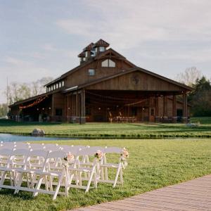 Nashville barn wedding reception