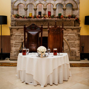Harry Potter wedding sweetheart table