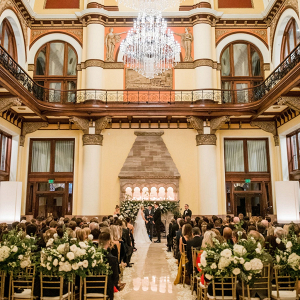 Union Station Hotel wedding in Nashville