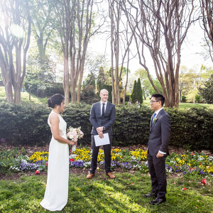 Intimate park elopement