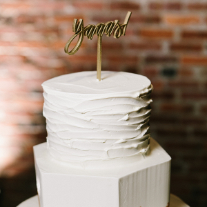 Yaaas! cake topper