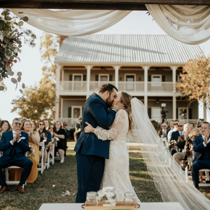 Nashville farm wedding ceremony