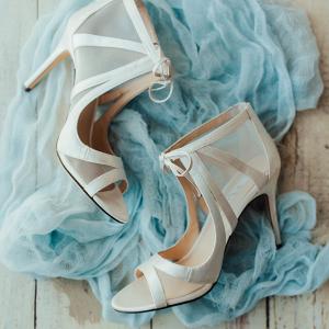Chic modern wedding heels