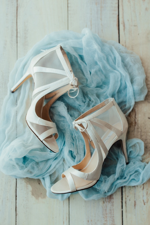 Chic modern wedding heels