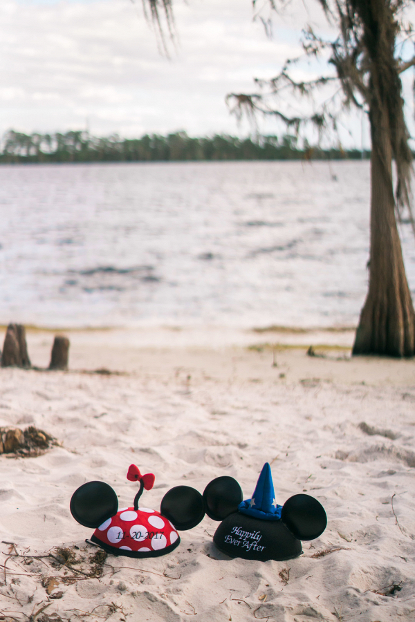 Wedding Minnie and Mickey Ears Hats