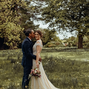 budget garden wedding from Acorn Photography on Paper & Lace