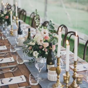 stylish campground wedding by Meredith Lord on Paper & Lace