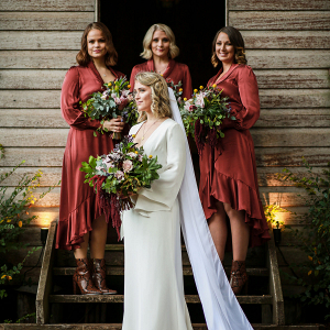 Modern Country Bridesmaids