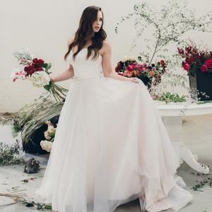 Modern Romantic Bridal Style