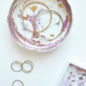 Abstract Trinket Dish Tutorial