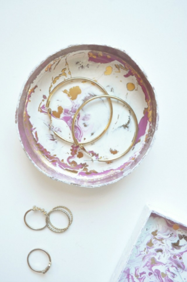 Abstract Trinket Dish Tutorial