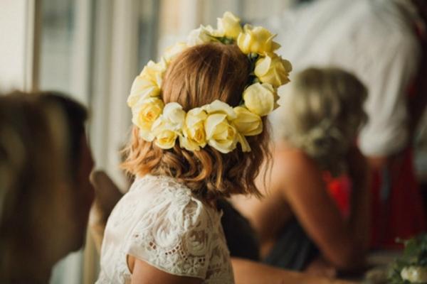 Bride's Flower Crown