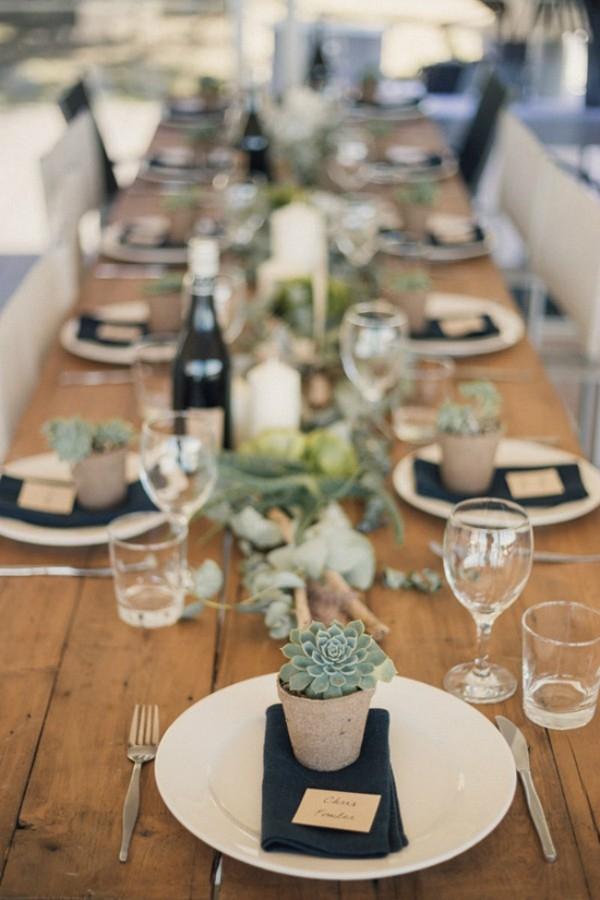 Organic Style Table Decor