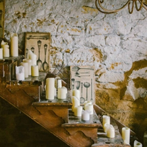 Candle Wedding Decor