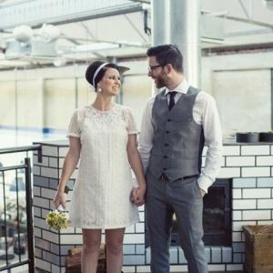 Sixties Style Wedding
