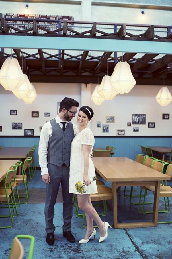 Mod Inspired Wedding
