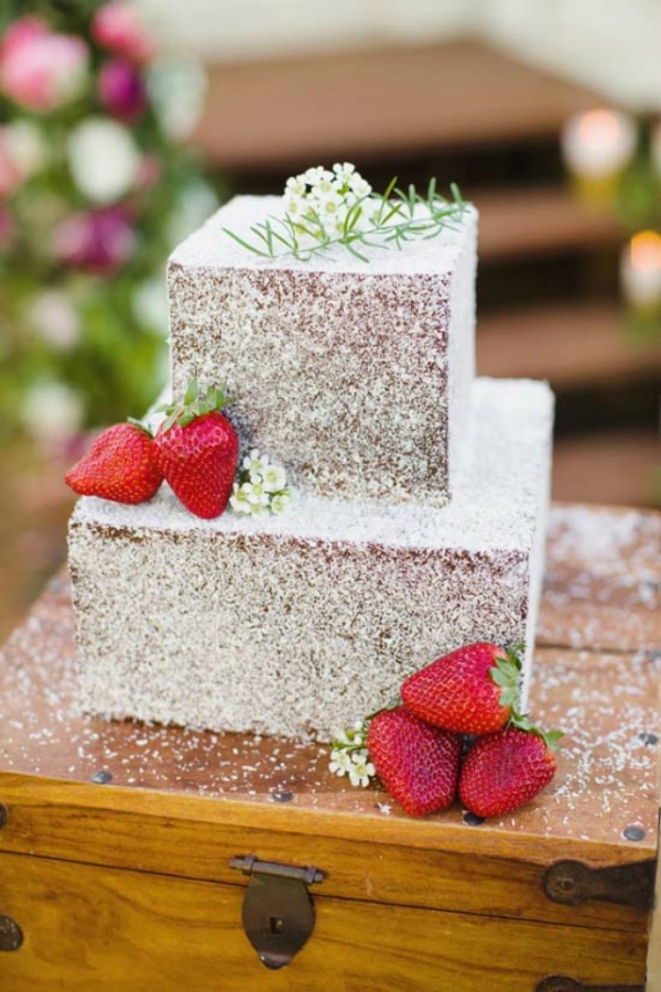 Lamington Wedding Cake