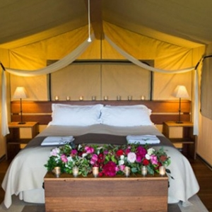 Glamping Wedding Tent