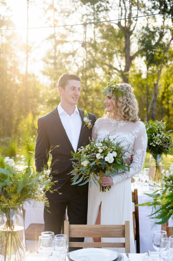 Australian Outdoor Wedding Ideas with Greenery
