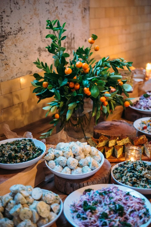 Autumn Wedding Table With Cumquats