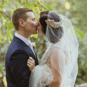 Autumnal Marybrooke Manor Wedding Portrait