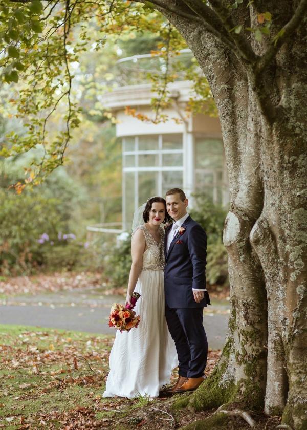 Autumnal Marybrooke Manor Wedding