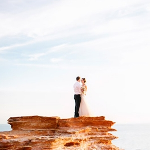 Beautiful Cable Beach Wedding