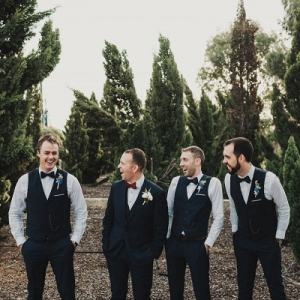 Groomsmen At Australian Wedding