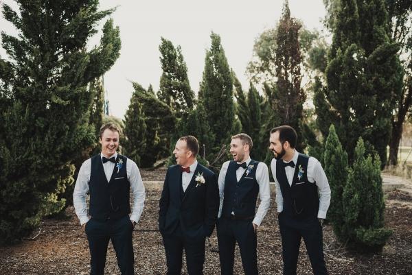 Groomsmen At Australian Wedding
