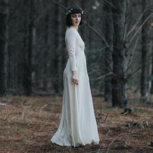 Bewitching Woodland Inspiration Bridal Shoot
