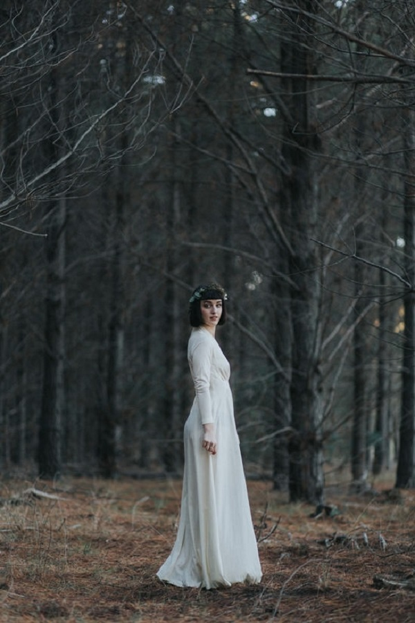 Bewitching Woodland Inspiration Bridal Shoot
