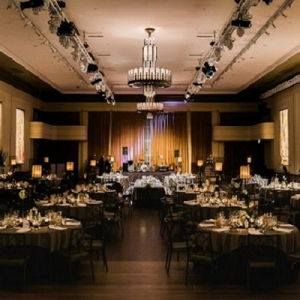 Black Tie Wedding Reception Venue