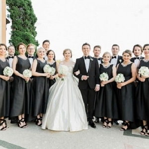 Black Tie Bridal Party