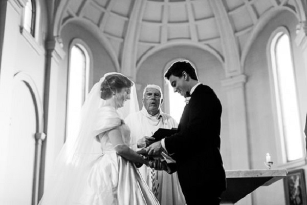 Black Tie Wedding Ceremony