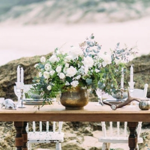 Bohemian Beach Style Tablescape