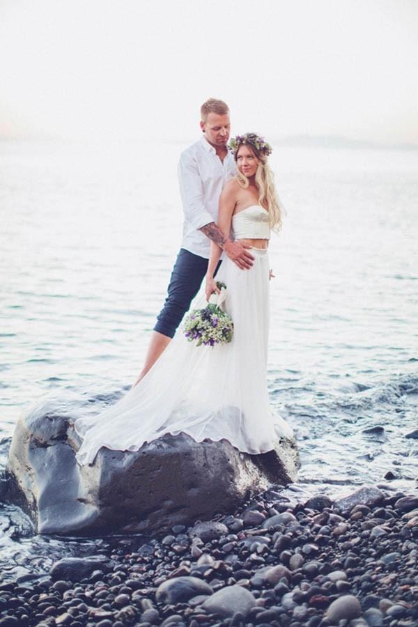 Bohemian Destination Wedding In Greece